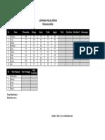 Soal TIK Praktik Excel Kelas 9 Tahun 2016 Soal A
