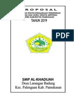 Proposal Bppdg 2019