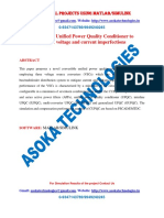 Convertible Unified Power Quality Conditioner to mitigate voltage and current imperfections