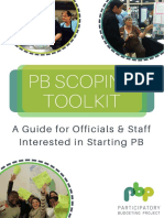 PB scoping toolkit