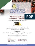 Concerto Benefici per PROGETTO DISLESSIA-Teatro Nuovo a MIlano