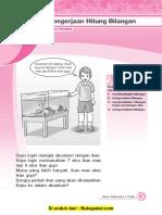 Bab 1 Pengerjaan Hitung Bilangan Bilangan Cacah Penjumlahan Dan Pengurangan