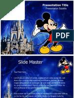 micky mouse template Presentation