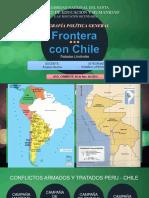 Chile y Perú Fronteras