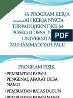 Rencana Program Kerja
