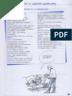 Il y a & c'Est 9-11 Grammaire en Dialogues
