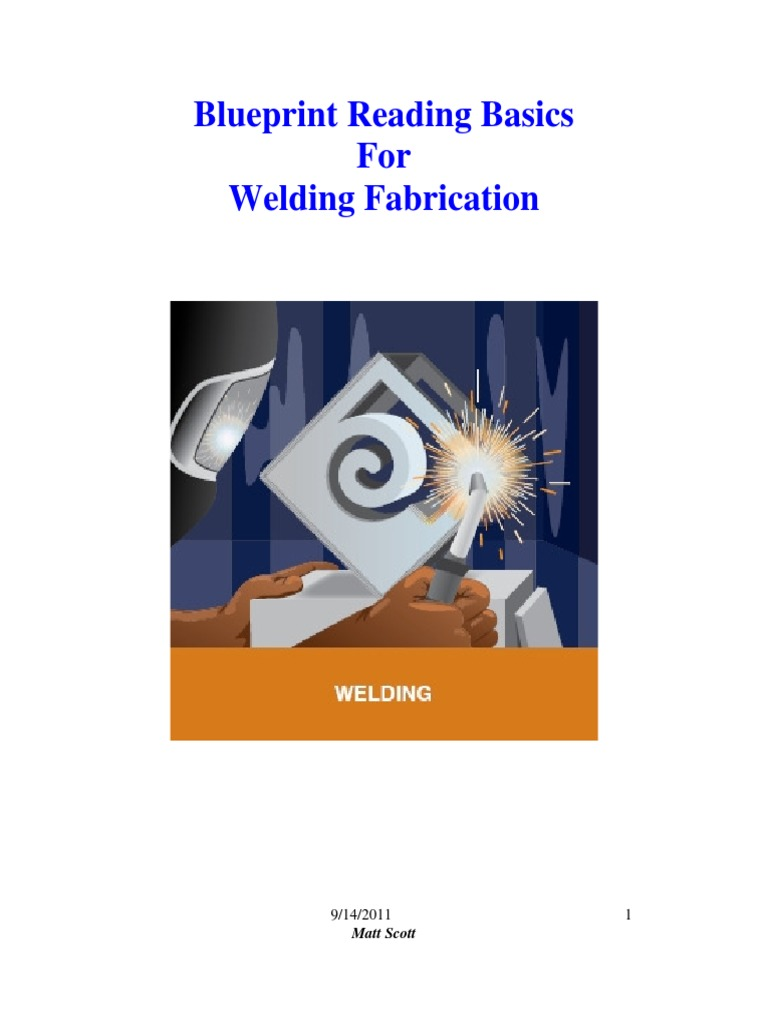 Blueprint Reading Esstentials In Weldingpdf Welding Drawing