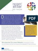 Moving Language Newsletter Winter-Spring 2018 GERMAN