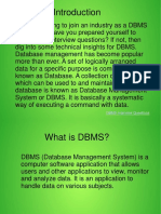 DBMS Interview Questions-ppt