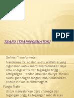 Trafo (transformator)PPT