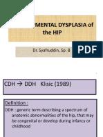 Developmental Dysplasia of the Hip - Copy