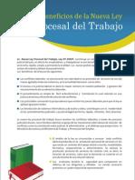 Beneficios Nueva Ley Procesal Trabajo[1]