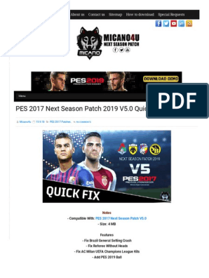 Pes 2019 Stuck On Kick Off