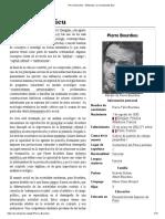 Pierre Bourdieu -