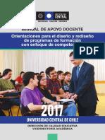 Orientaciones para el diseño y rediseño de programas de formación con enfoque de competencias