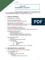Incremental Project Guideline (CS110) Terengganu