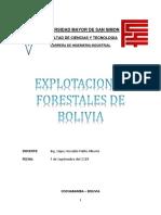 Explotaciones Forestales de Bolivia