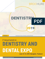 3rd Annual Summit on Dentistry and Dental Expo Brochure