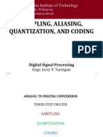 L04B - Sampling, Quantization, And Coding