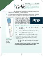 TechTalk Sodium Citrate