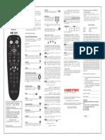 Hme-3sky User Manual