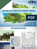 Analisis Climatico en El Diseño Urbano Ppt