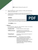 HROMS ERP Cloud Agreement Ver 1.0