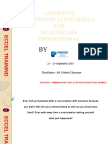 Assertive Communication for Healthcare Professionals New