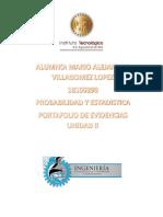 Portafolio Unidad II Probabilidad y Estadistica MAVL