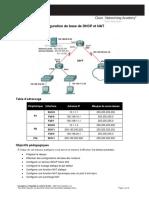 Exercice 7.4.1 _ Configuration de Base de DHCP Et NAT