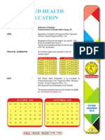 Exam Time Table Nov 2018
