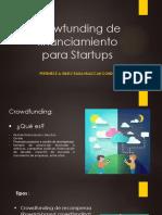 Crowfunding de Financiamiento STARTUP