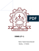 DBMS Lab File