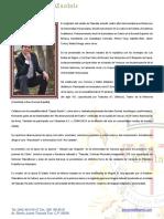 Resumen de Curriculum de Javier
