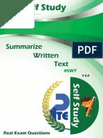 Self Study -Swt - V.6.0