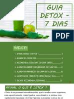 Guia Detox 7 Dias