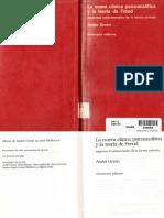Green André - La Nueva Clínica Psicoanalítica y La Teoría de Freud