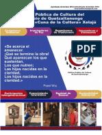 Politica cultual del municipio de Quetzaltenango Guatemala