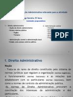Powerpoint Legislação Administrativa Partilhar
