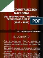 4. La Reconstrucción Nacional