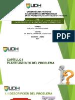 """Diapositivas """"La Cultura Tributaria y Su Incidencia en La Formalización de Los Contribuyentes Del Rus en El Mercado Central de Huánuco 2018"""""""