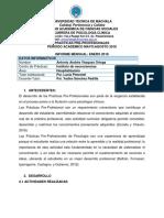 Modelo Informe Mensual Antonio Vasquez