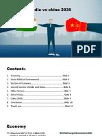 India vs China 2030