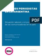 Estudio Mujeres Periodistas 2018