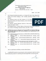 Amendend in Standard RFP