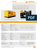 Ficha Técnica-grupo Electrógeno Mp-20(16kw)
