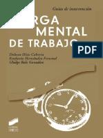 Carga mental de trabajo (guía de intervención) - Dolores Díaz Cabrera.pdf