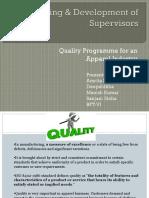 Training & Development of Supervisors Jury