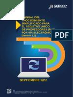 MANUAL-PROCEDIMIENTO  DE COMPRAS PUBLICAS