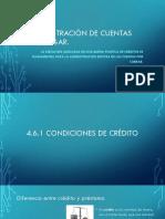 4.6 Administración de Cuentas Por Pagar